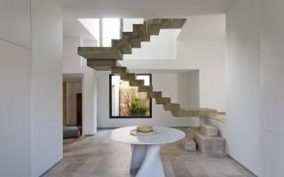 Облицовка бетонной лестницы в доме