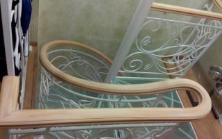 Поручни для лестниц из ПВХ — поливинилхлоридные