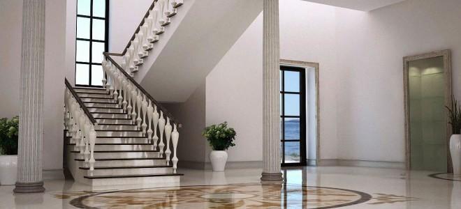 Лестницы из камня для дома