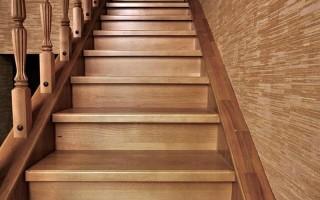 Элементы деревянной лестницы