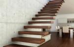 Лестничные ступени для дома на второй этаж