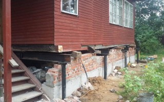 Ремонт фундамента дома, причины разрушения
