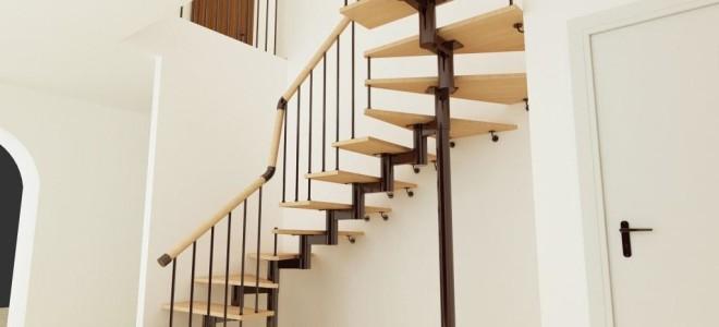 Как сделать винтовую лестницу на второй этаж?