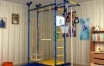 Спортивная лестница: турник для дома
