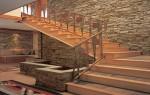 Облицовка лестниц: обшивка деревом, ламинатом, плиткой