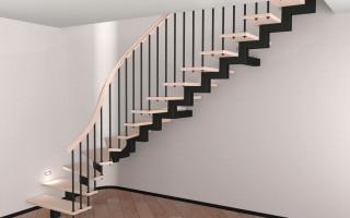 Как сварить лестницу из профильной трубы