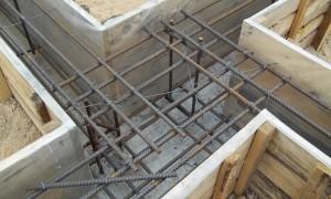 Армирование ленточного фундамента: схема, вязка