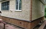 Монтаж фасадных цокольных панелей своими руками
