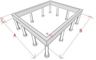 Расчет свайного (столбчатого) фундамента: калькулятор