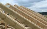 Расчет стропил двускатной крыши: онлайн калькулятор