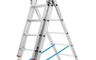 Лестница выдвижная: мансардная, максимальный вес