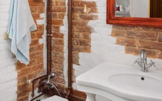 Как спрятать трубы в маленькой ванной комнате