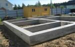 Выбор фундамента для дачного дома относительно грунта