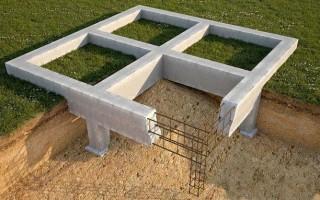 Определение глубины заложения фундамента для дома