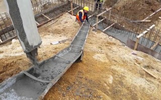 Состав бетона для фундамента: бетон, щебень, песок