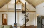 Мансардные лестницы в частном доме: складные