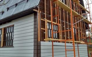 Обшивка деревянного дома сайдингом: пошаговая инструкция