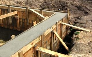 Марка бетона для фундамента частного дома: калькулятор