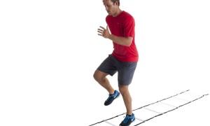 Тренировочная лестница для футбола своими руками — видео
