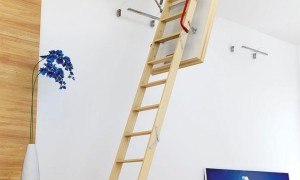 Чердачная лестница своими руками: фото, видео