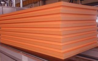 Толщина пеноплекса для утепления стен: пример расчета