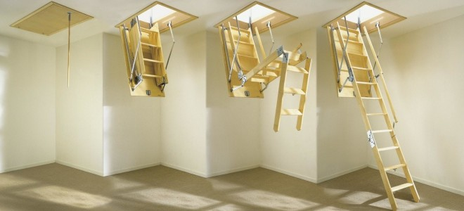 Складная лестница для дома: обзор конструкций