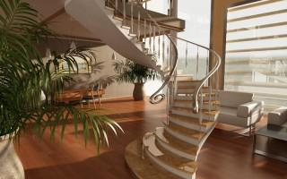 Лестницы для дома: фасадные, внутренние