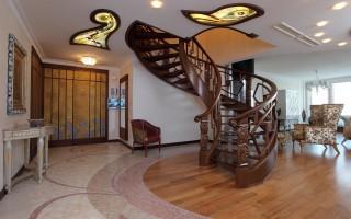 Деревянные лестницы на 2 этаж