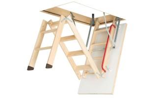 Складная лестница на чердак: механизм