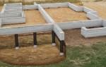 Ростверковый фундамент своими руками, пошаговая инструкция