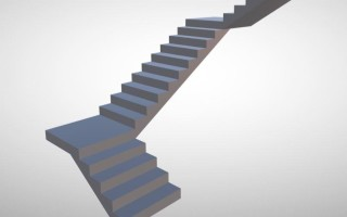 Расчет лестницы с тремя пролетами (трехмаршевая): калькулятор