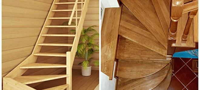 Как рассчитать лестницу с поворотом: забежные, площадка