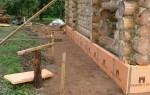 Утепление фундамента старого деревянного дома снаружи