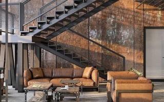 Лестница лофт: 17 лучших интерьерных решений