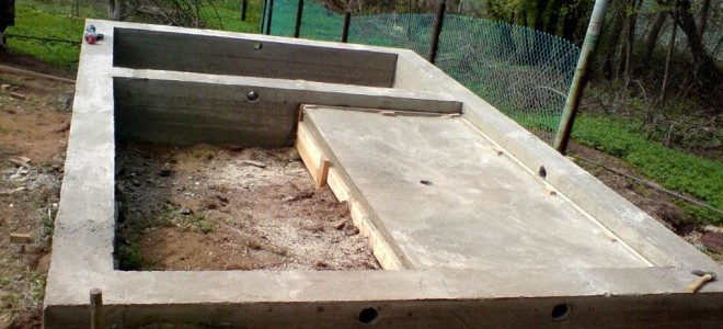 Фундамент под баню: расчеты, армирование, опалубка