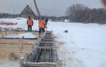 При минусовой температуре можно ли заливать бетон
