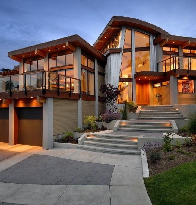 бетонное крыльцо