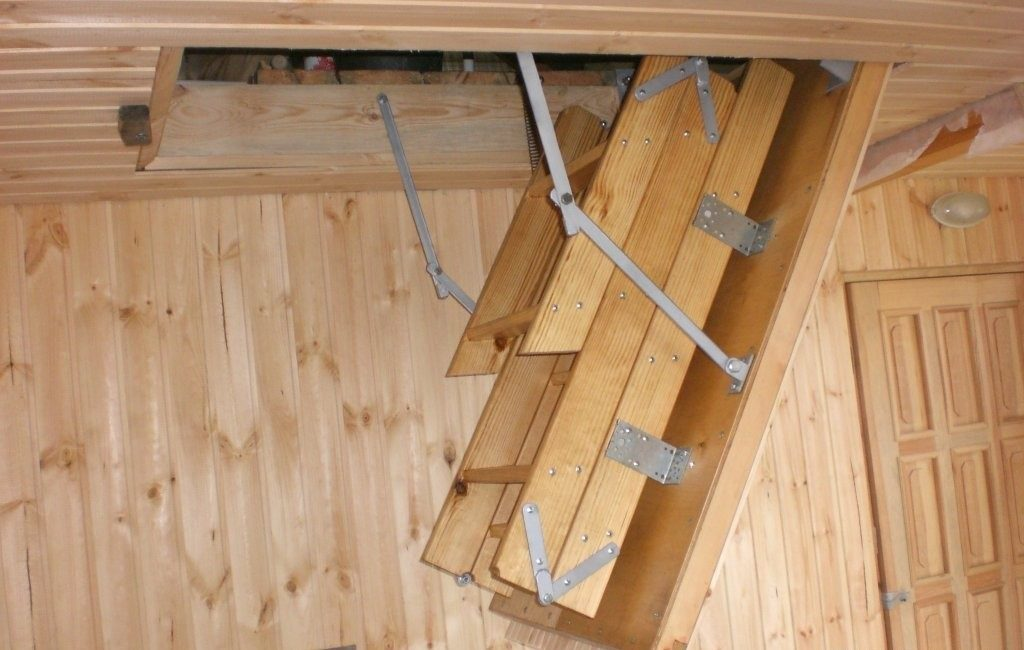 складная 3х секционная лестница
