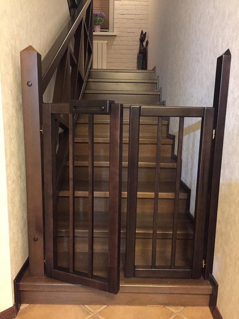 деревянный барьер