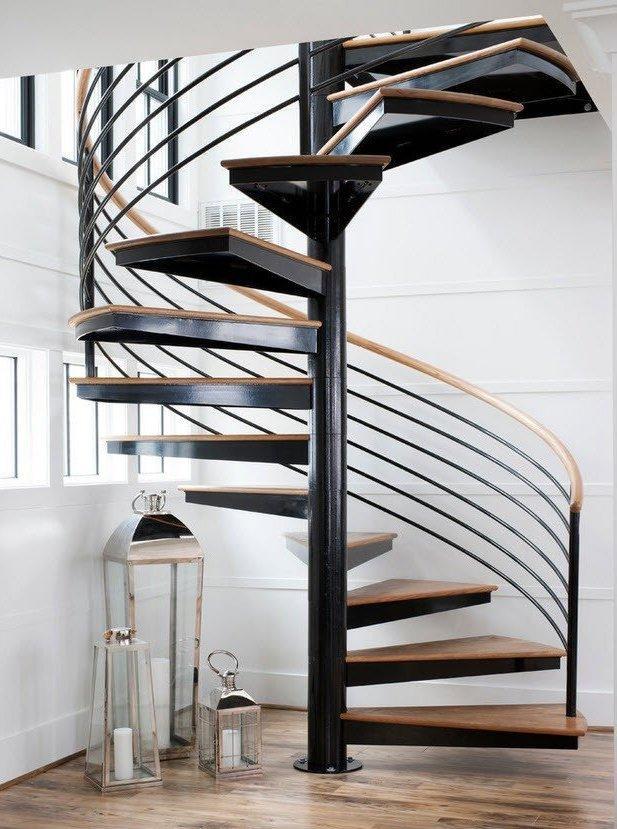 сварная металлическая лестница