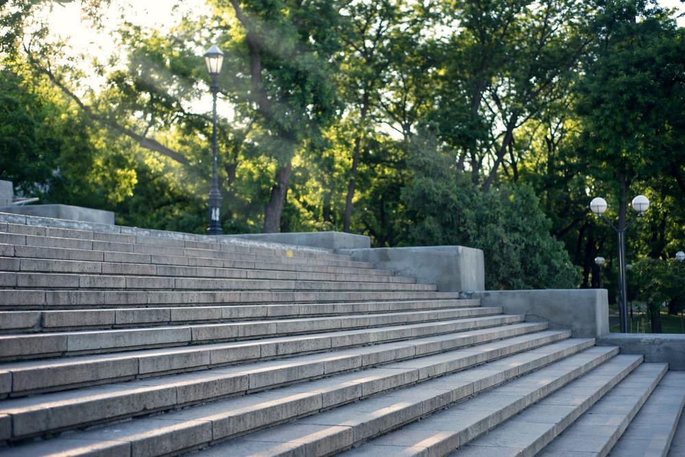 широкая лестница