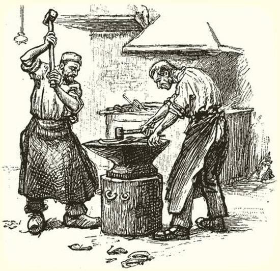 изготовление кованых перил