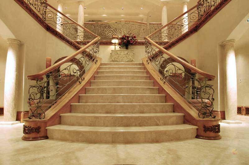 каменные лестницы в интерьере