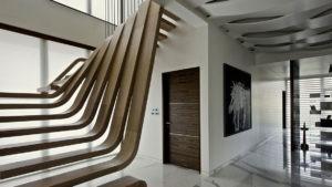 современные деревянные перила