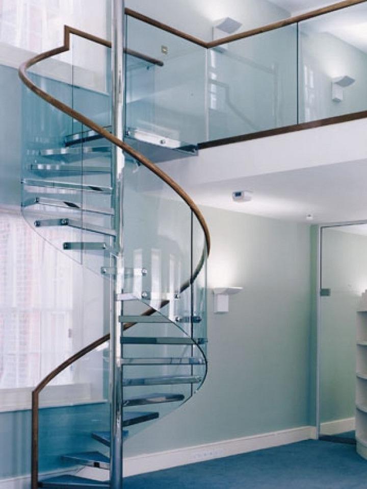 комбинированные винтовые лестницы