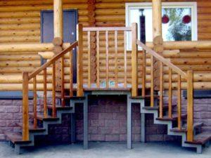 Боковые лестницы с одной или двух сторон