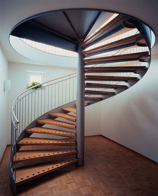 ширина винтовой лестницы