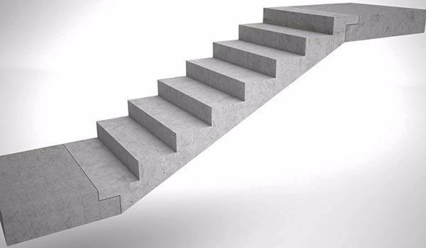 модульная бетонная лестница