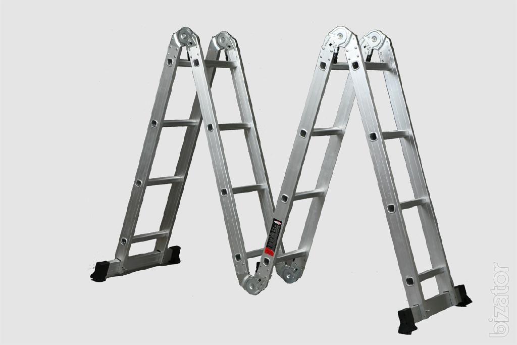 алюминиевая лестница трасформер