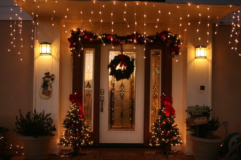 Картинки новогодние украшения для дома